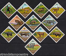Guinea - 1975 Wild Animals - U/M - SG 871-82