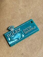 TAG verde Rolex Oyster swimpruf Submariner 1680 5513 GMT 1675 PEPSI ANNI 1970 OEM