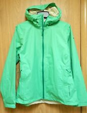 NEW Mountain Hardwear Finder Packable Light Rain Jacket Womens L Emerald Green