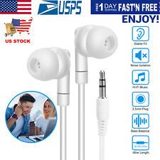 3.5mm HIFI Super Bass Headset In-Ear Earphone Stereo Earbuds Headphone Wired US