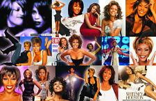 Whitney Houston Collage Poster