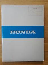 Honda Prelude Orig 1983 Reino Unido MKT periodistas prensa Pack folleto con fotos