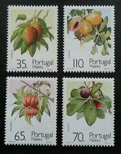 Portugal Fruits And Sub-Tropical Plants 1991 Papaya Mango (stamp) MNH