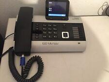 Siemens Gigaset DX800A all in one  Basisstation mit Netz und ISDN Kabel