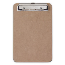 Saunders 05510 Low Profile 6x9 Recycled Hardboard Memo Clipboard Hanging Hole