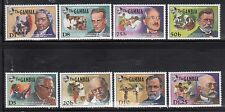 Gambia 908-15 Nobel Prize Winners Mint NH