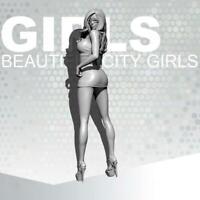 1/24 Resin Kits Beauty Girls Office Girl Resin Soldier Self-assembled TD-202031