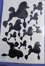 Standard Poodle  stickers