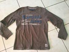 Tee-shirt KAPORAL  taille 12 marron/kaki manches longues bon état