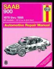 Saab 900, 1979-1988 by John Haynes (1989, Paperback)