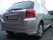 Toyota Corolla 00-06 E12 Rear Bumper spoiler flaps elerons splitter addon corner
