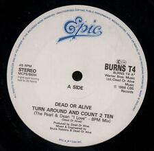 "Dead Or Alive(12"" Vinyl)Turn Around And Count 2 Ten-Epic-BURNS T4-UK-19-VG/NM"