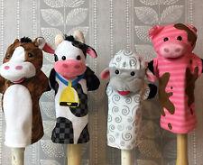 Melissa And Doug Farm Animal Hand Puppets