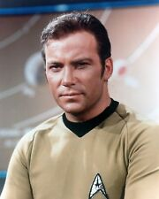 WILLIAM SHATNER STAR TREK KIRK 8x10 Color Print Photo TV Television Memorabilia
