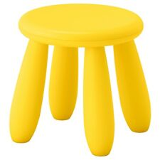 IKEA MAMMUT Children's stool in/outdoor, YELLOW - PROMOTIONAL PRICE