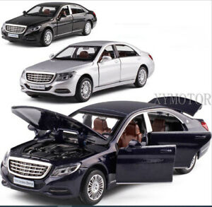 1/32 Mercedes Benz S CLASS S600 Pull Back Car Diecast MODEL CAR Toys kids Gifts