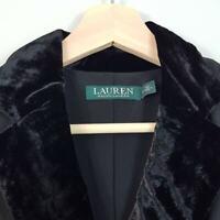 [ RALPH LAUREN ] Womens Black L/S Dress NEW | Size AU 6 or US 2