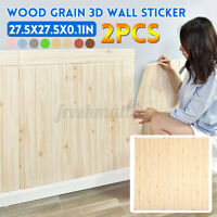 2Pcs/Set 70x70cm 3D Wall Tile Stickers Bedroom Living Room Self-Adhesive Decals