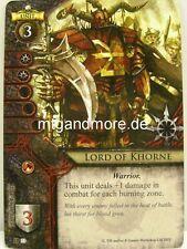 Warhammer Invasion - 1x #033 Lord of Khorne - Cataclysm