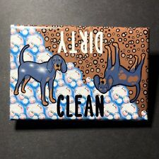 Black and Tan Coonhound Dog Dishwasher Magnet Sign Cleaning Accessories Decor