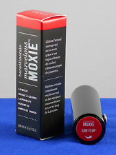 BareMinerals LIVE IT UP Cherry Red Marvelous MOXIE Lipstick FS  NIB 3.5ml/.12 oz