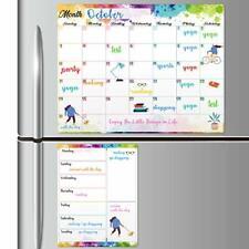 Magnetic Dry Erase Fridge Calendar White Board Magnetic Calendar For