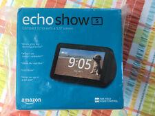 New Amazon ECHO SHOW 5 with ALEXA - Charcoal Bluetooth Wifi Camera