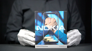 Nokia 9 Pureview 4G 128GB Unlocked Mobile Phone Blue Boxed - 'The Masked Man'