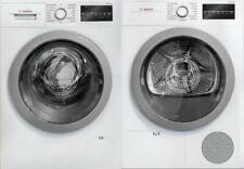 Bosch 500 Series Front Load Wht Washer & Dryer Set Wat28401Uc / Wtg86401Uc