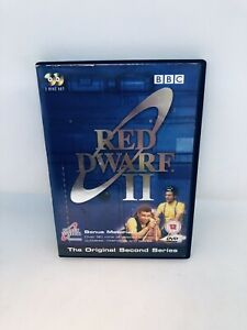 RED DWARF Season Two DVD Very Rare Region 4 English Comedy Very Good Condition