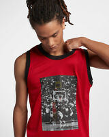 Hommes Nike Air Jordan Extensible 23 T Shirt XXL BlancNoir