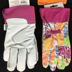 Woman's Expert Gardening Gloves Goat Skin 1 pair NEW