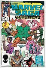 The Marvel Saga #1 (Marvel, 1985) – Fantastic Four - X-Men – Alpha Flight - NM