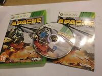 XBOX 360 GAME VIDEOGAME APACHE AIR ASSAULT +BOX & INSTRUCTIONS COMPLETE PAL
