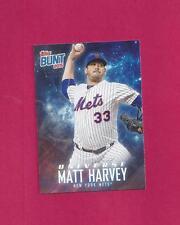 2015 Topps Update Bunt Player Code Cards #MH Matt Harvey serial #21/25