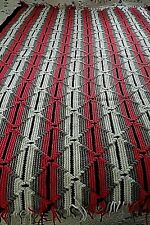 """New"" Hand Crocheted Afghan 50"" x 64"""
