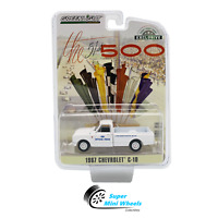Greenlight 1967 Chevrolet C10 (White) 51st Indy 500 Official Truck  1:64