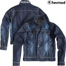 Rokker Revolution Waterproof Motorcycle Denim Jacket - Blue