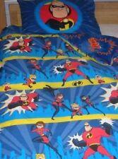 RARE! Vintage DISNEY Pixar `INCREDIBLES` Single Reversible duvet cover & P/Case!