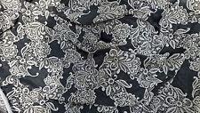 beau tissu jersey lycra fonds GRIS & blanc ideal maillot 100X140 cm