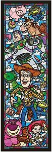 Tenyo X Disney Puzzle Toy Story Stained Glass Look 456pc