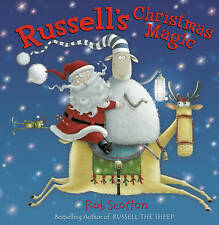 NEW  RUSSELL'S CHRISTMAS MAGIC  small hardback ( Russell the sheep Rob Scotton )