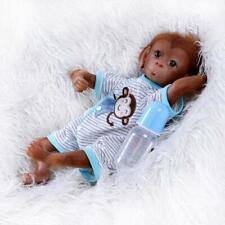 18in Baby Monkey Doll Realistic Reborn Baby Orangutan Dolls Soft Body Toys