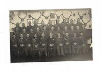 Foto, Große Soldatengruppe in Uniform