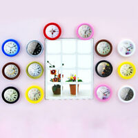 1:12 Resin Dollhouse Miniature Wall Clock Home Decor Accessories Furniture To JR
