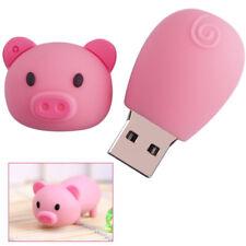 8Go USB 2.0 Clé USB Clef Mémoire Flash Data Stockage / Cochon Rose