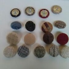 Static Caravans Upholstery Button Cover Service-All furnishings Choice/Quatity