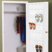 Over The Door Shoe Organizer Rack Hanging Storage Holder Hanger Space Saver