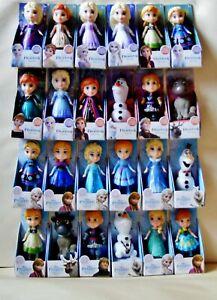 Disney Princess Frozen Mini Toddler 3 Inch Posable Doll - Choose Your Favourite