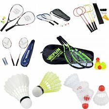 Badminton Badmintonschläger Set Federball Racket Speed Schläger Komplettsets